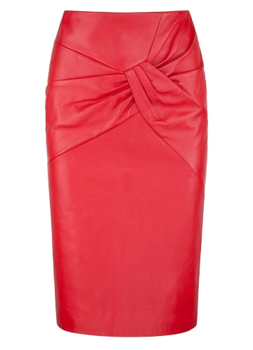 Niamh_ONeill_-_Red_Leather_Zip_Backed_Kiss_Skirt_-_High_Res